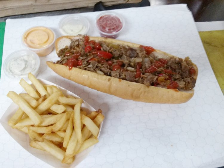 Cheesesteak food trucks