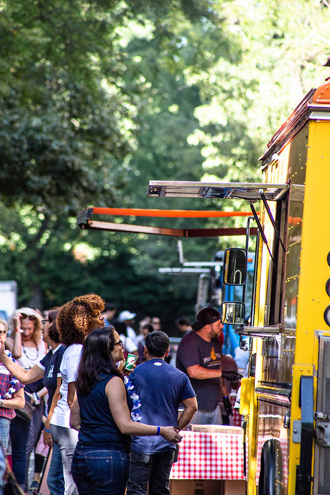 Food truck catering ideas