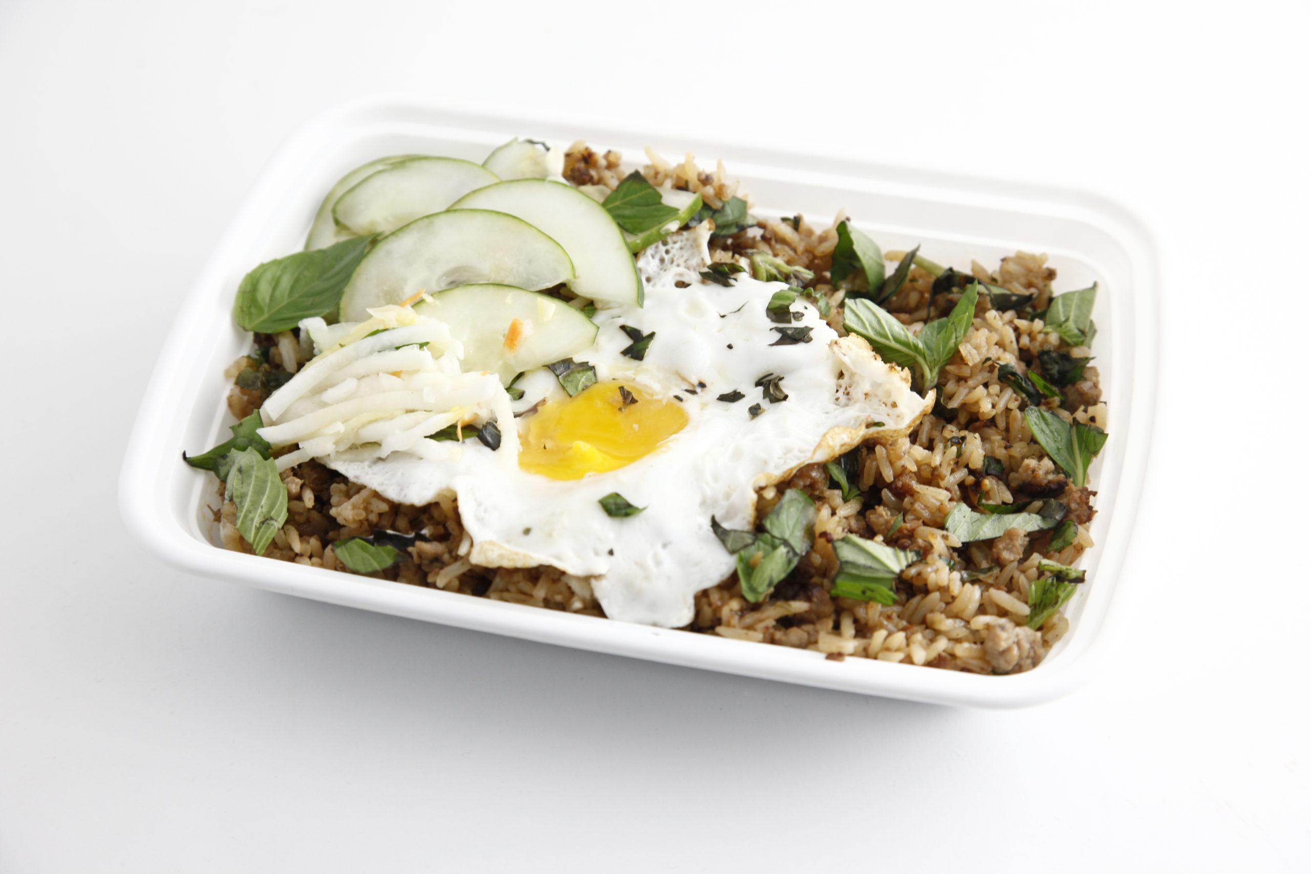 Big D's Spicy Chicken Rice Platter