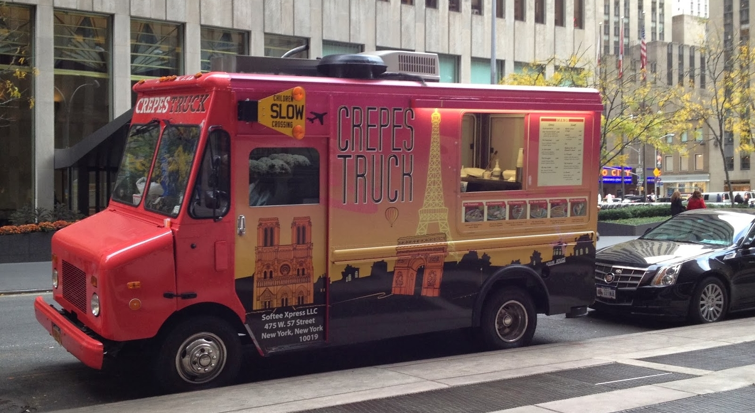 Crepes Truck Food Truck