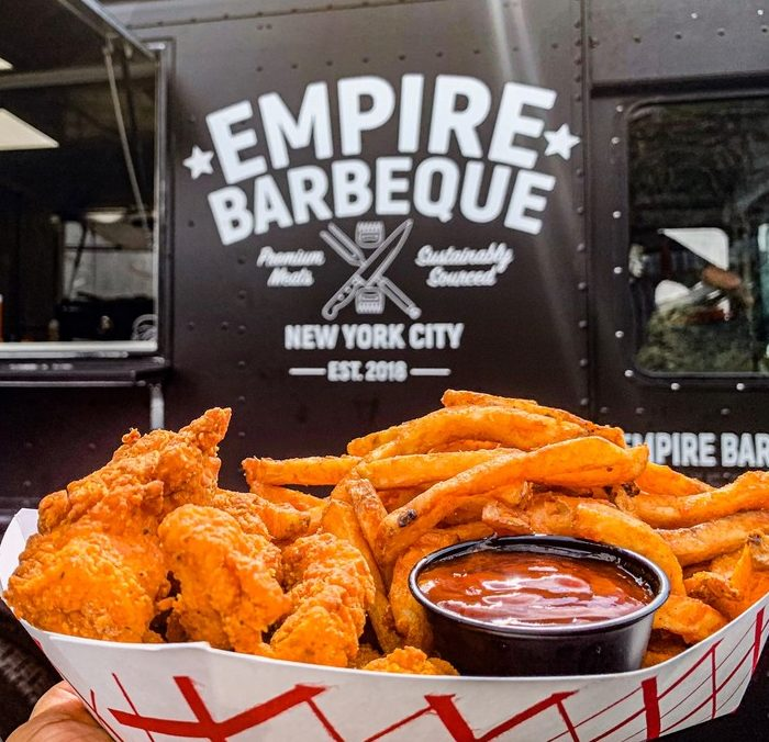 empire bbq chicken fingers catering