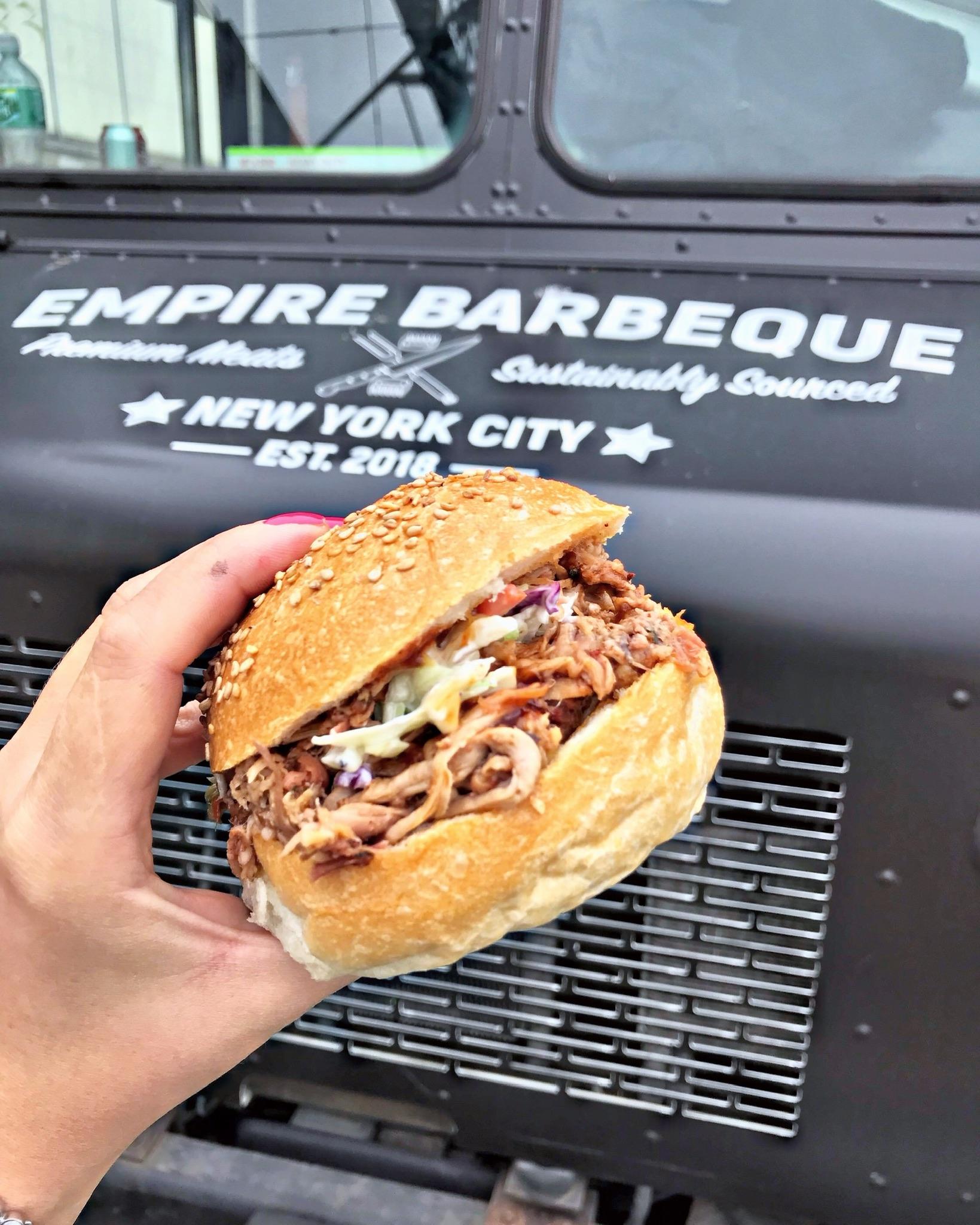 Empire BBQ Pulled Chicken Sandwich