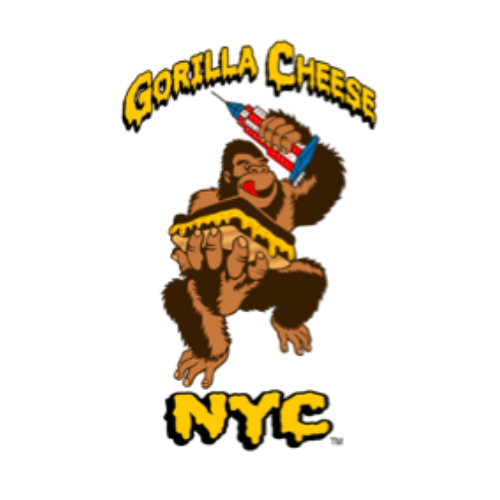 gorilla cheese nyc food truck logo
