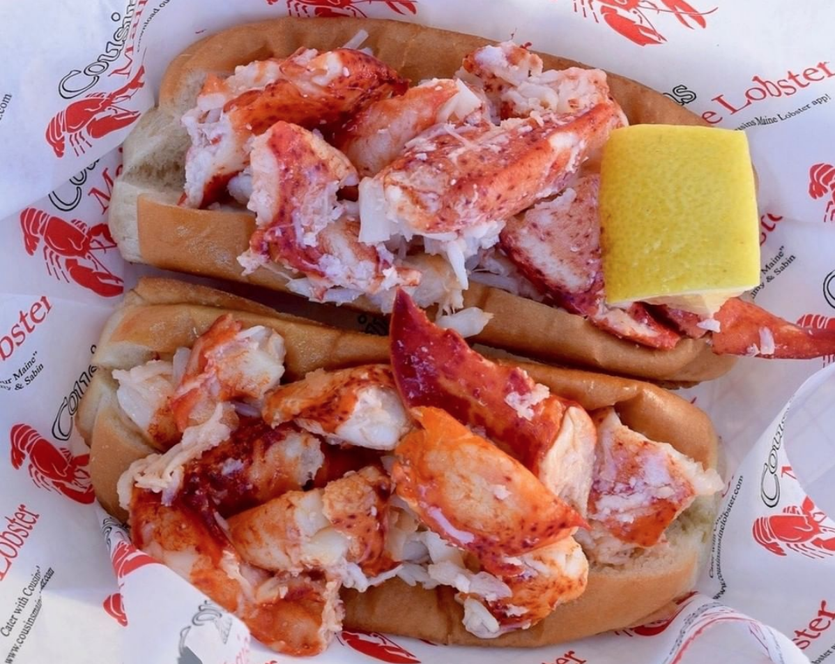 Lobster Roll from Cousins Maine Food Truck