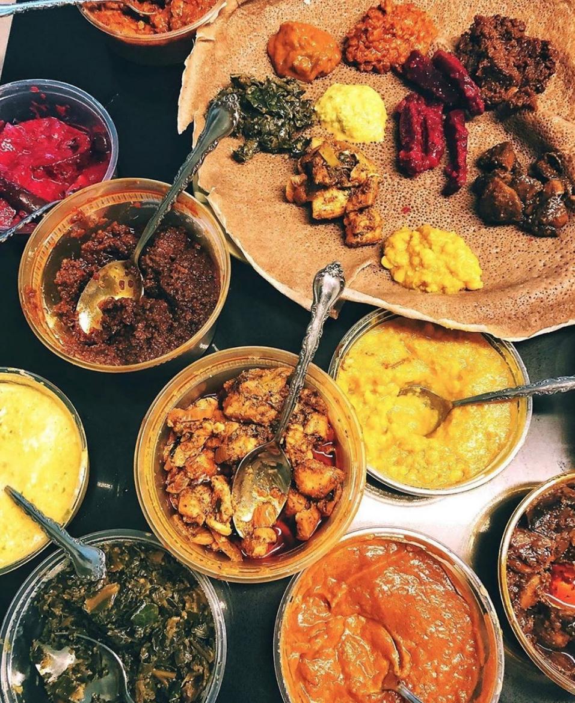 makina cafe ethiopian food