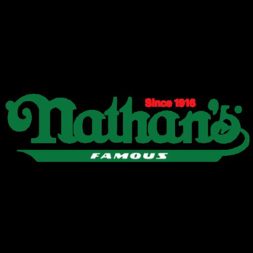 nathan's famous food cart logo