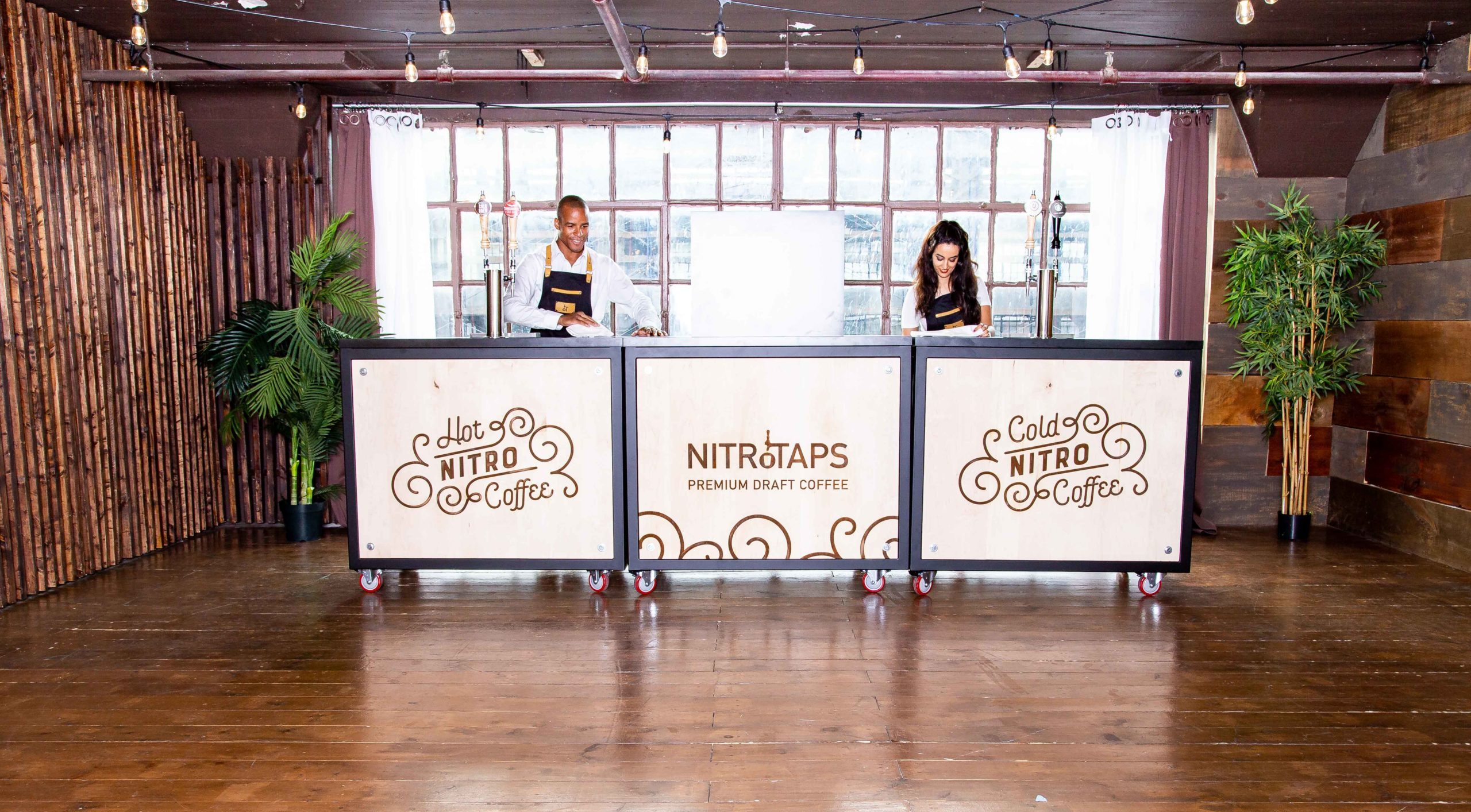 NitroTaps Mobile Bar Coffee Catering NYC