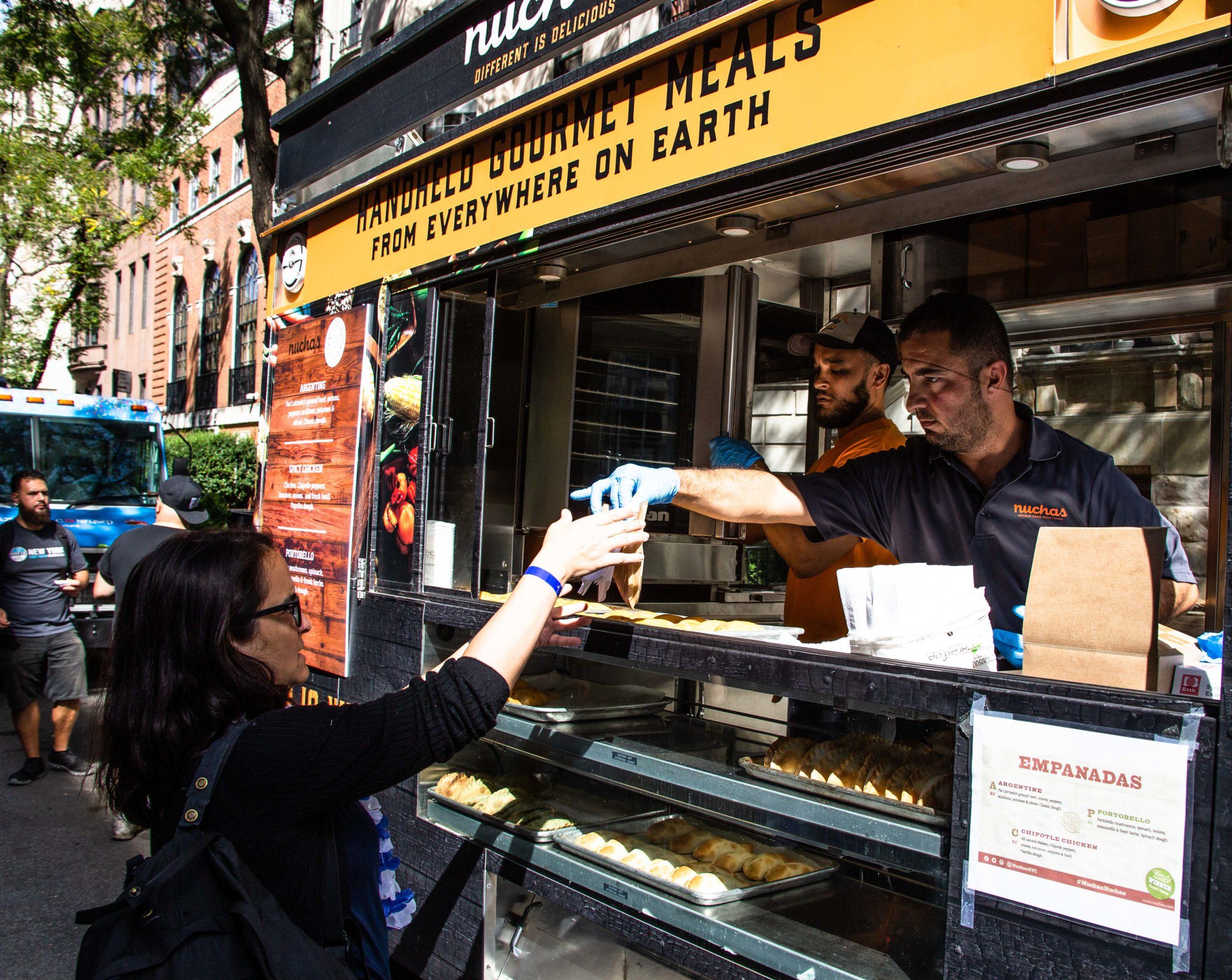 nuchas empanadas private event catering