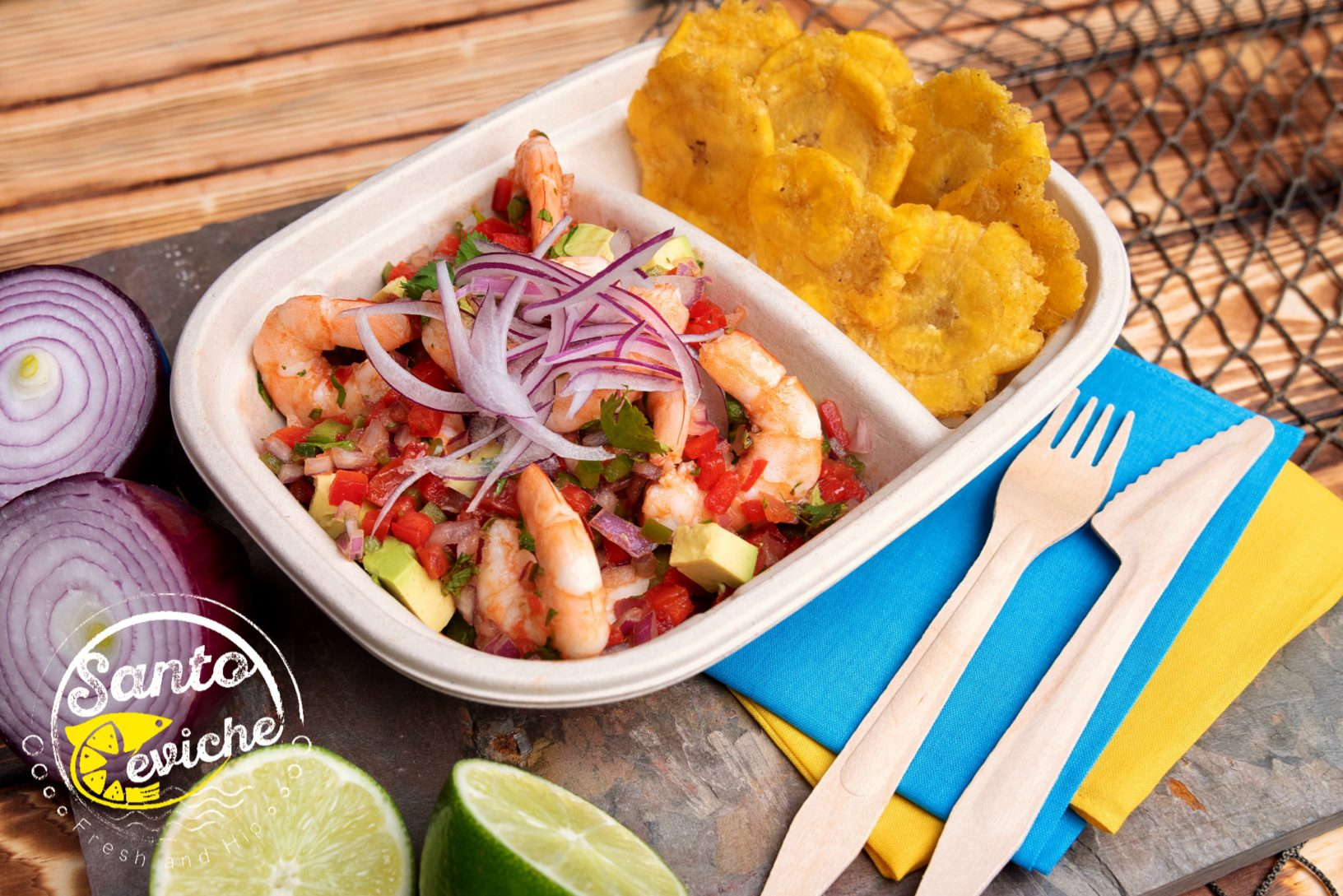 shrimp ceviche seafood food truck