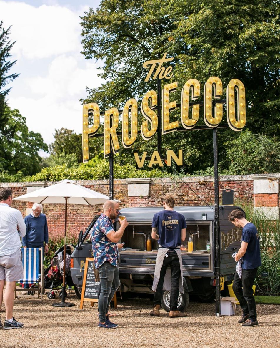 Vintage Piaggio Mobile Bar