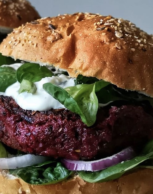 beet burger comfort vegan comfort food catering nyc