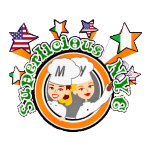 Superlicious nyc food truck logo